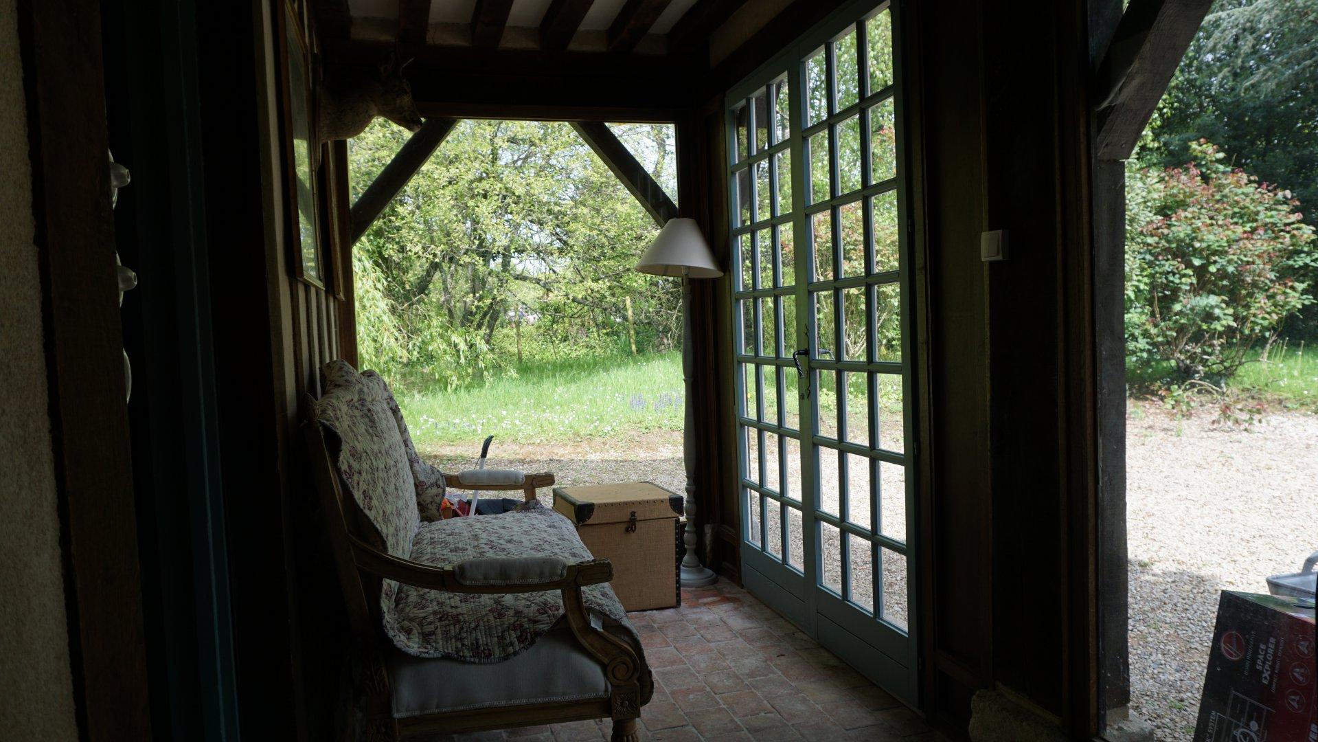 PAYS D'AUGE-CALVADOS A Manerbe une maison Normande, sa maison, un jardin  et une piscine