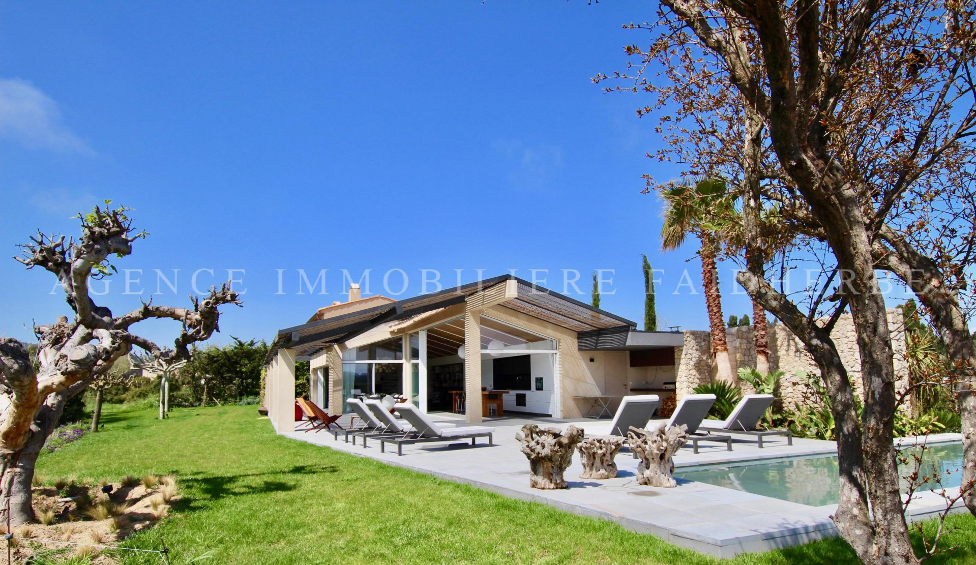 Villa with a swimming pool in Ramatuelle