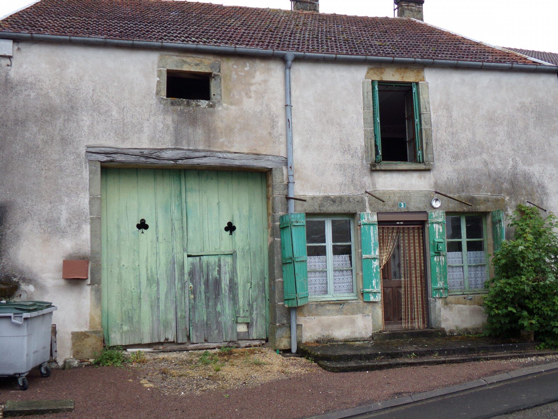 Leuk boerderijtje te koop in de Haute Marne.