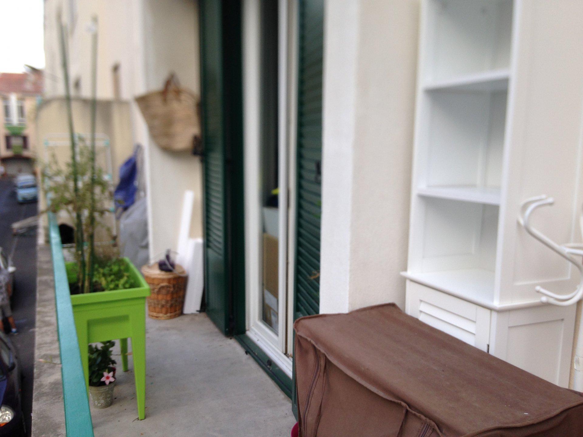 Appartement type 4, 62m², trois chambres, balcon