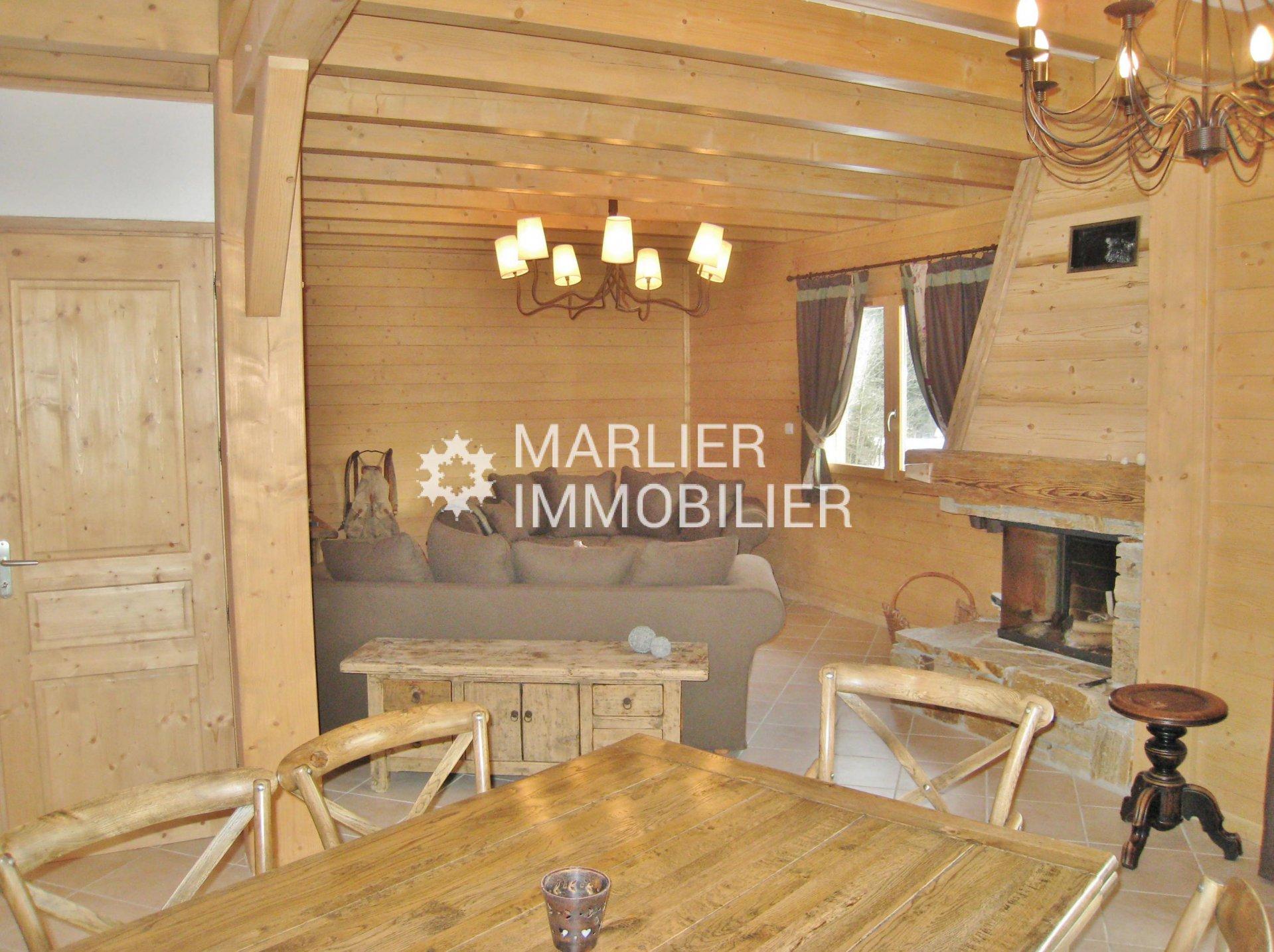 Seasonal rental Chalet - Praz-sur-Arly