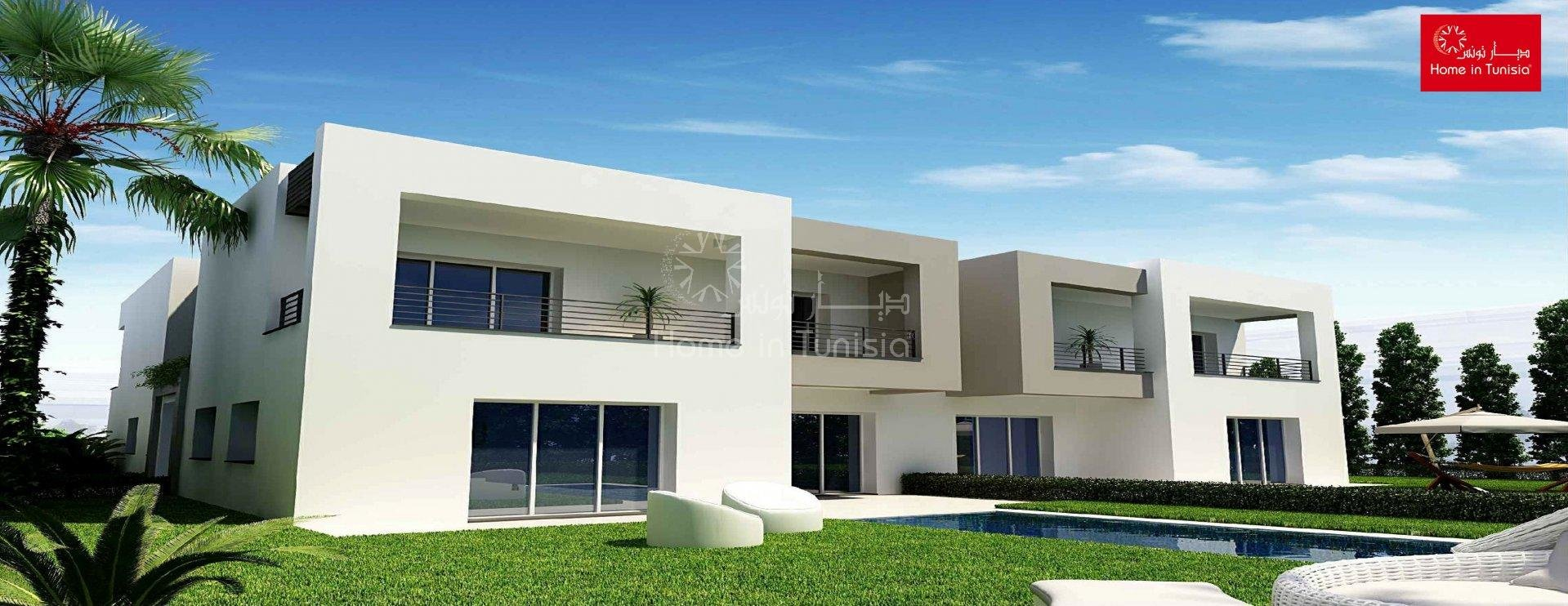 Villa isolated new golf of 327.35 m2 with 4 rooms terrace garden swimming pool garage