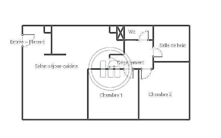Quartier Rives de Seine- Agréable 3P 62 m2 avec parking intérieur