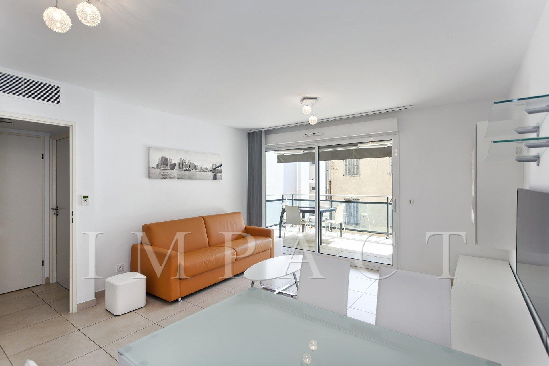 Modern apartment to rent in the heart of Cannes
