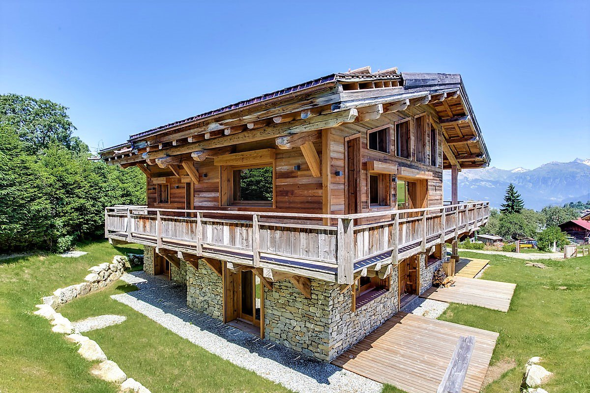 Mégève - New luxury chalet facing Mont Blanc