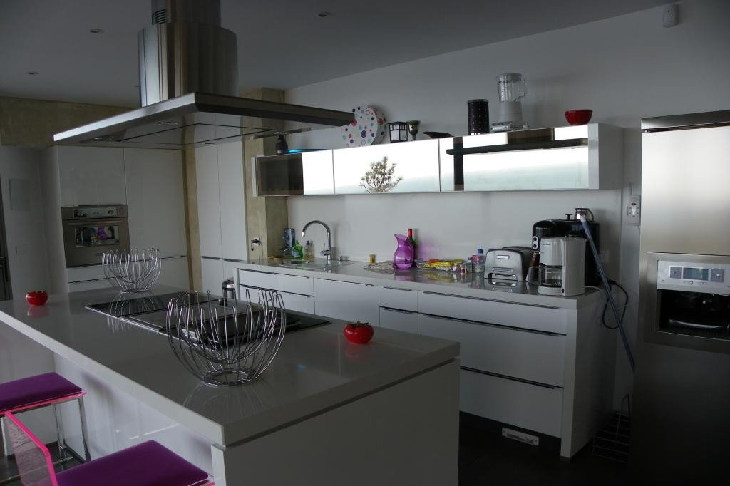House level Garden level, View Panoramic sea, position south east, General condition New, Kitchen American, ...