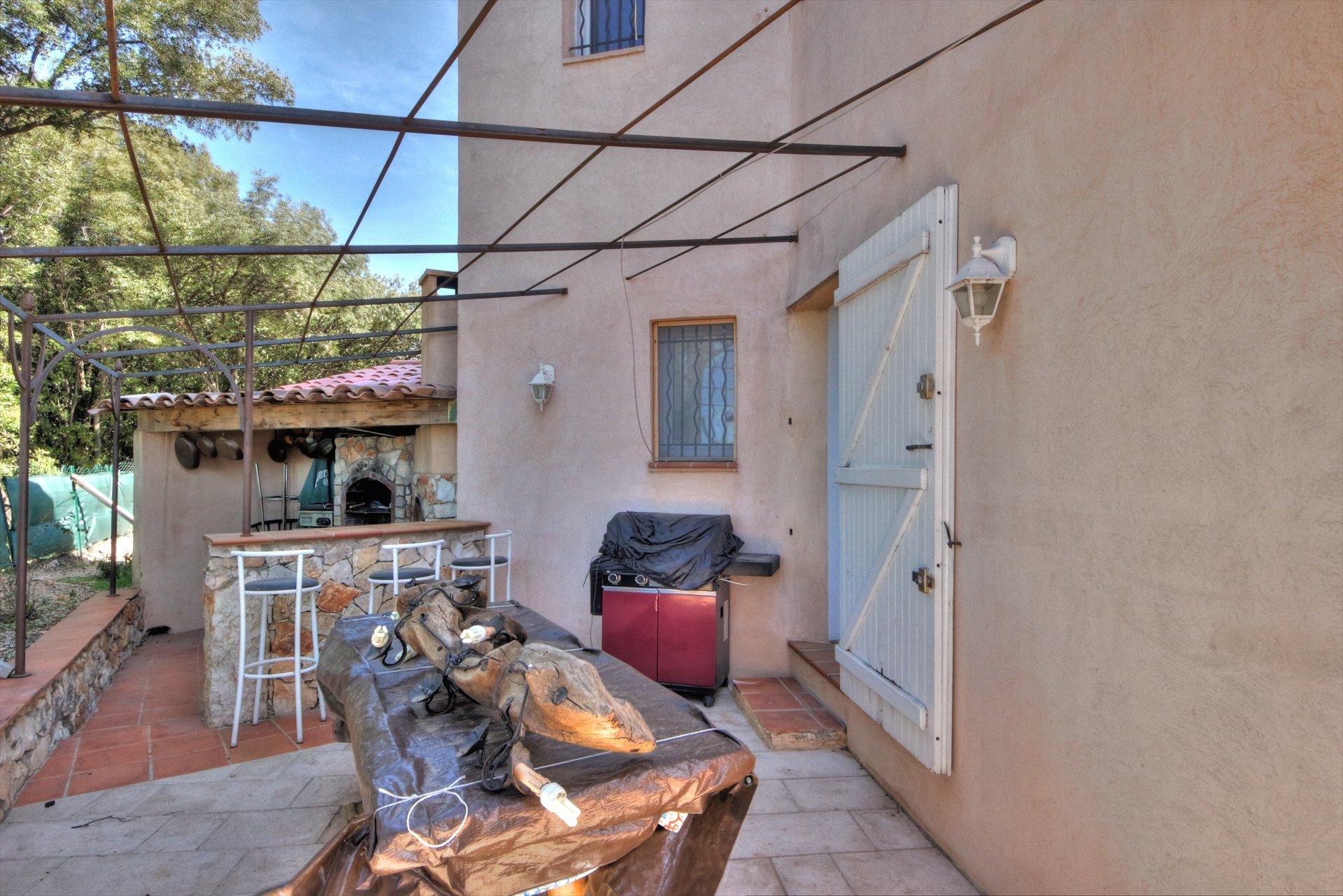 Terrasse privative de la seconde maison