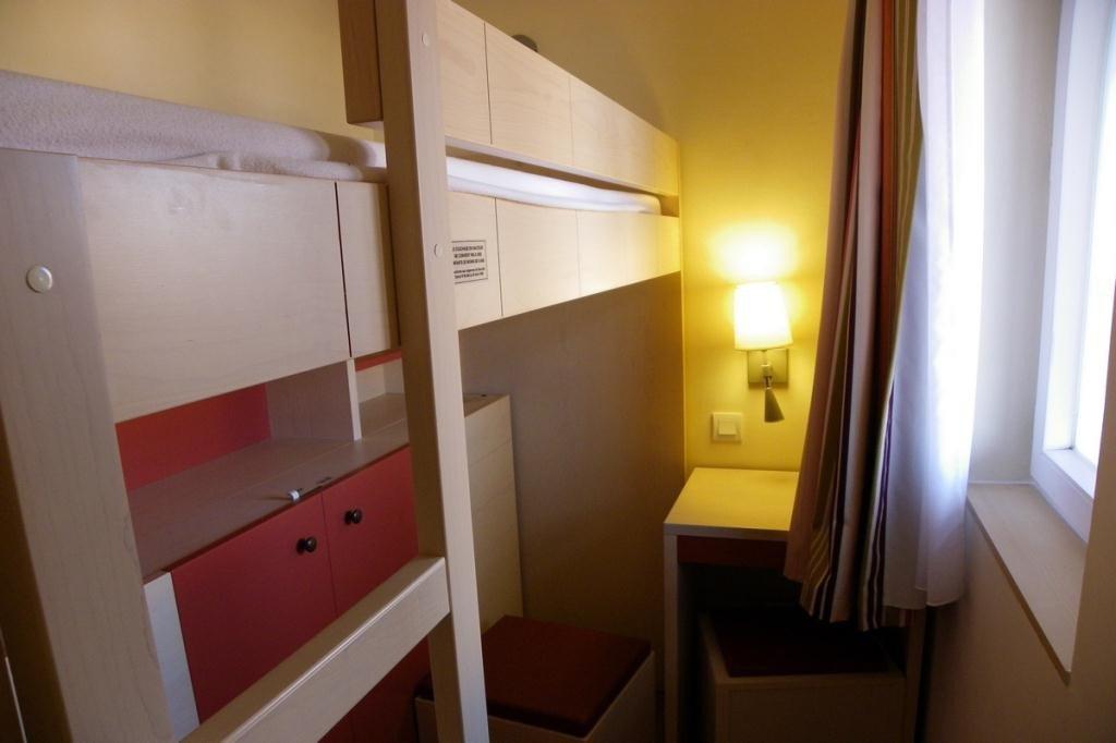 La cabine de l'appartement de Cap Estérel