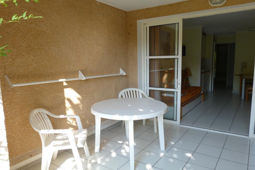 Cap Estérel the terrace giving access to the apartment