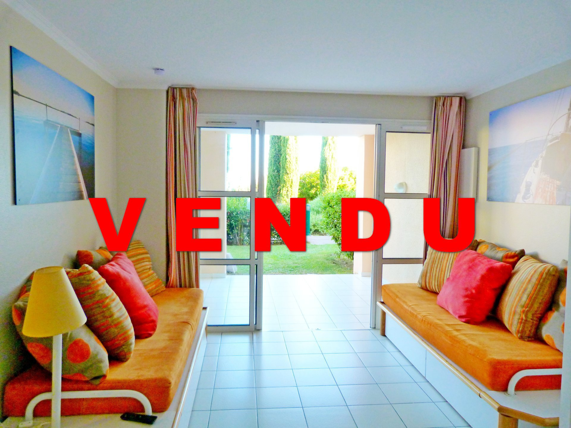 ApartmentFloor Garden level, View Sea, Position south, General condition Good, Kitchen Kitchenette, ...