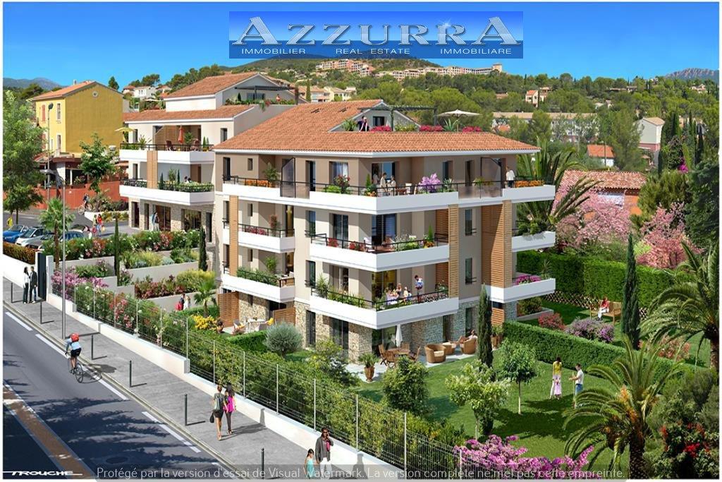 Achat Saint Raphael Le dramont VEFA Promotion 4 pièces 3 terrasses