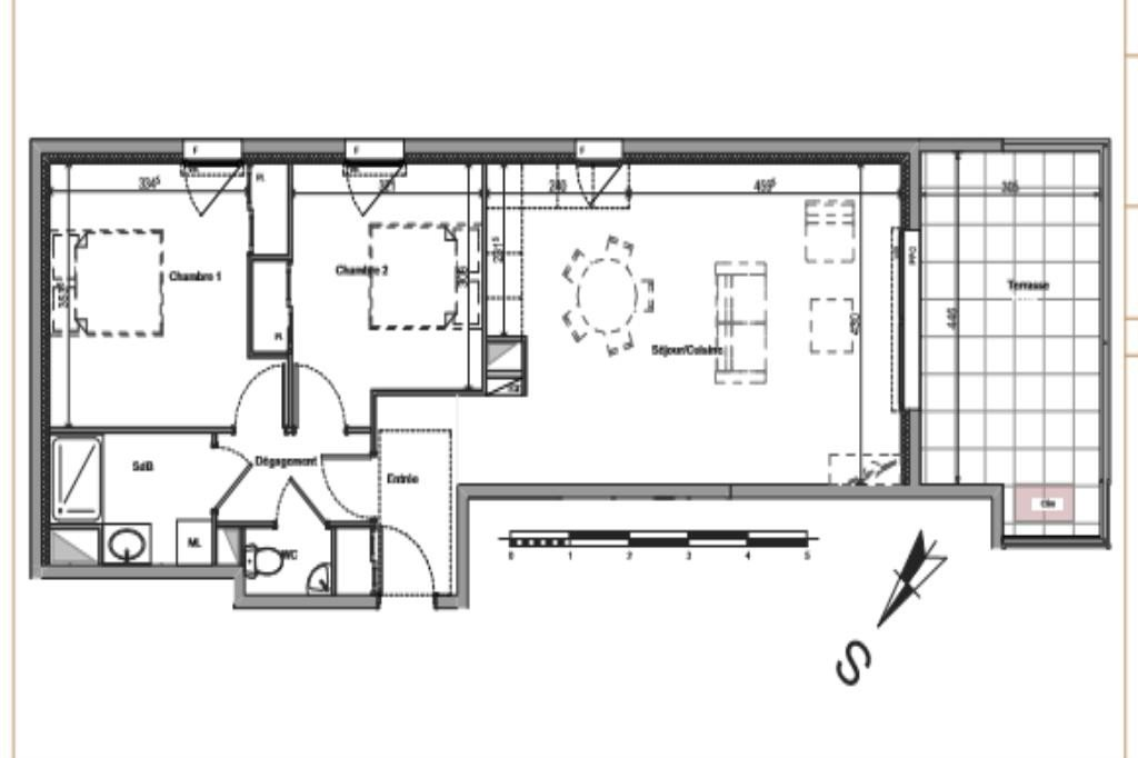 ApartmentFloor 2nd, View Urban, Position north east, General condition New, Heating Separate electric, ...