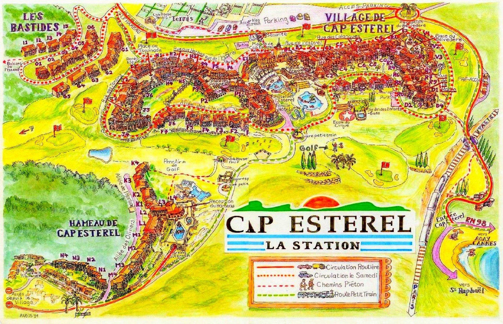 AGAY CAP ESTEREL STUDIO DERNIER ETAGE