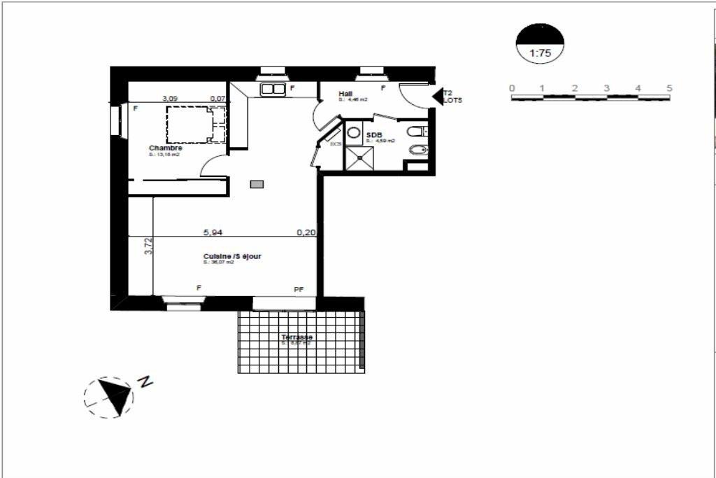 ACHAT NEUF appartement saint raphael le dramont 2 pièces 1er étage