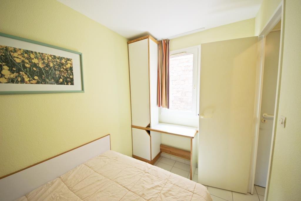 The bedroom in Cap Estérel's apartment
