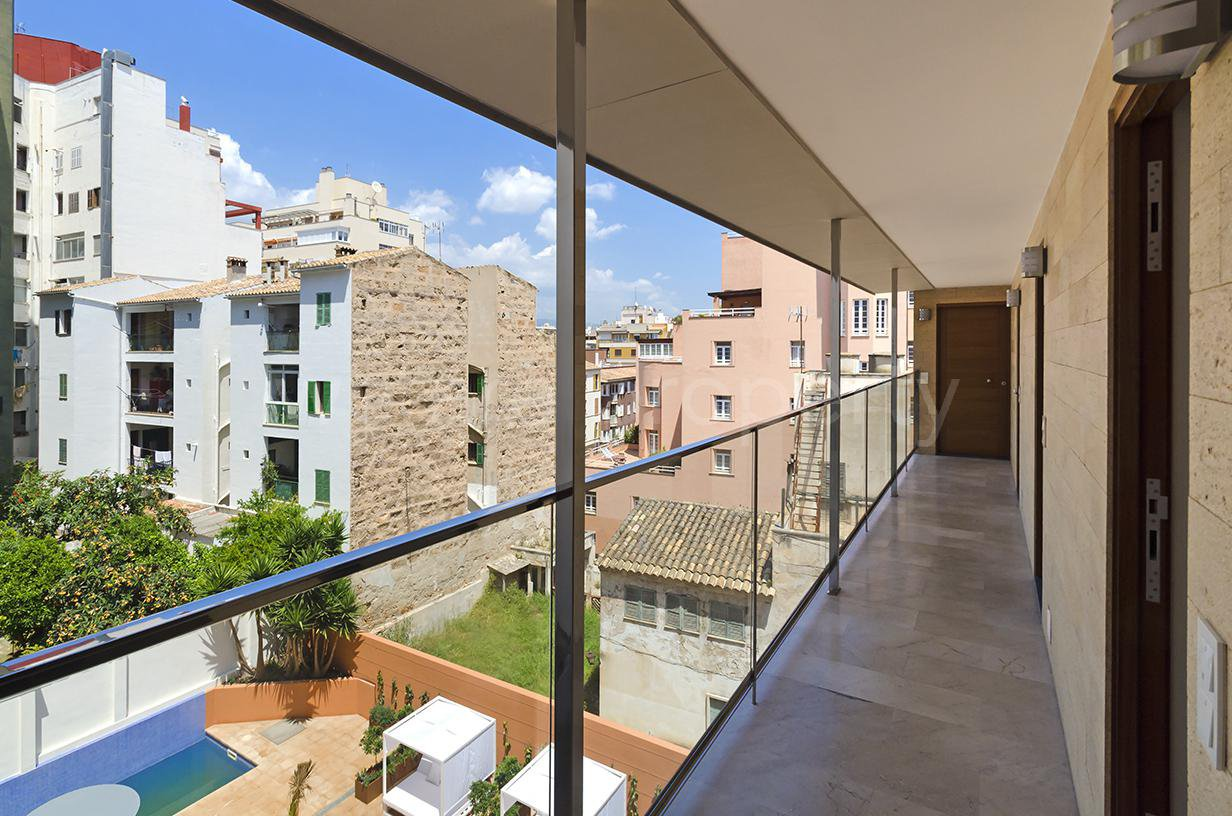 Newly built apartments in a small building in Palma