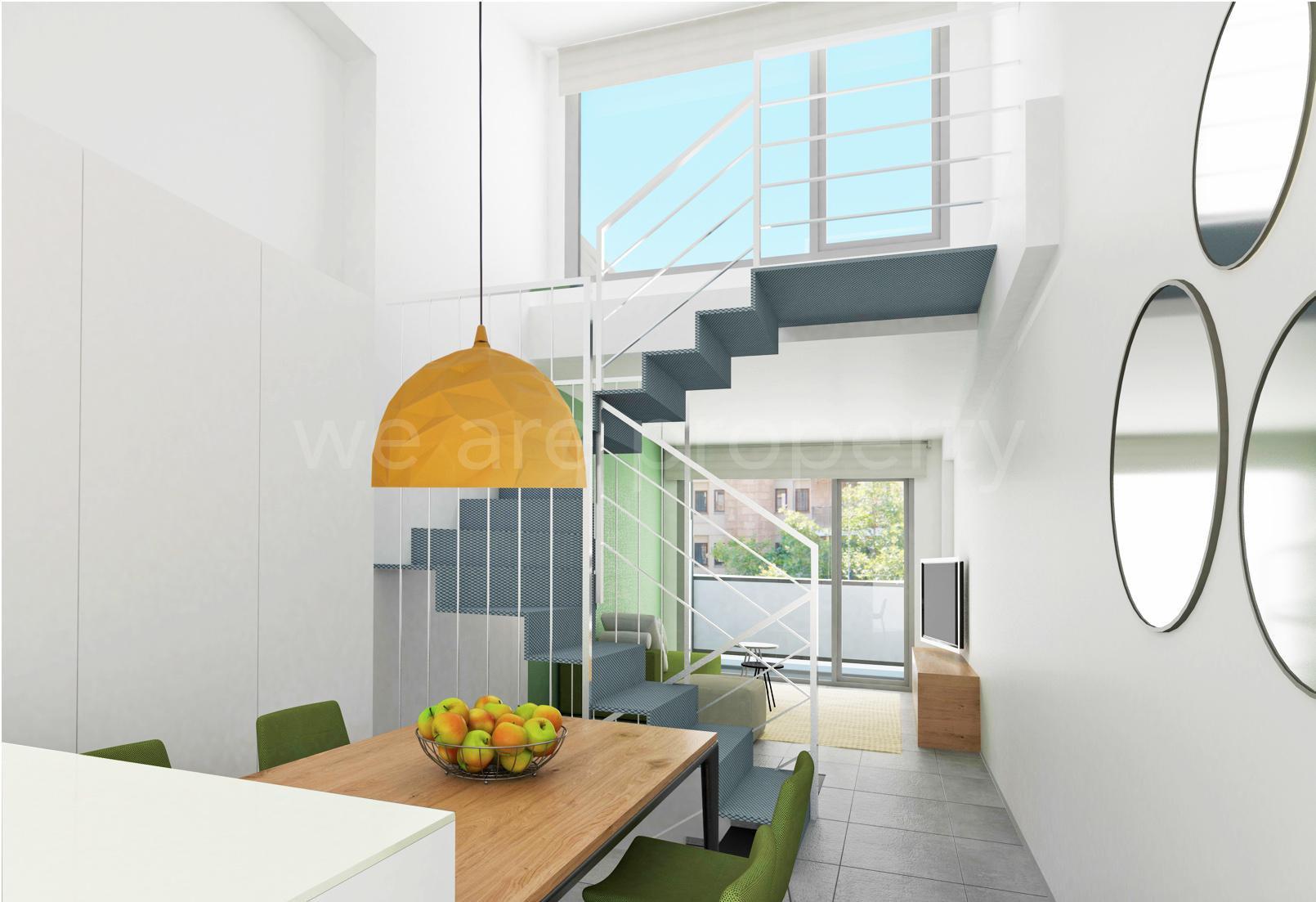 Nybyggda lägenheter i en mindre fastighet i Palma