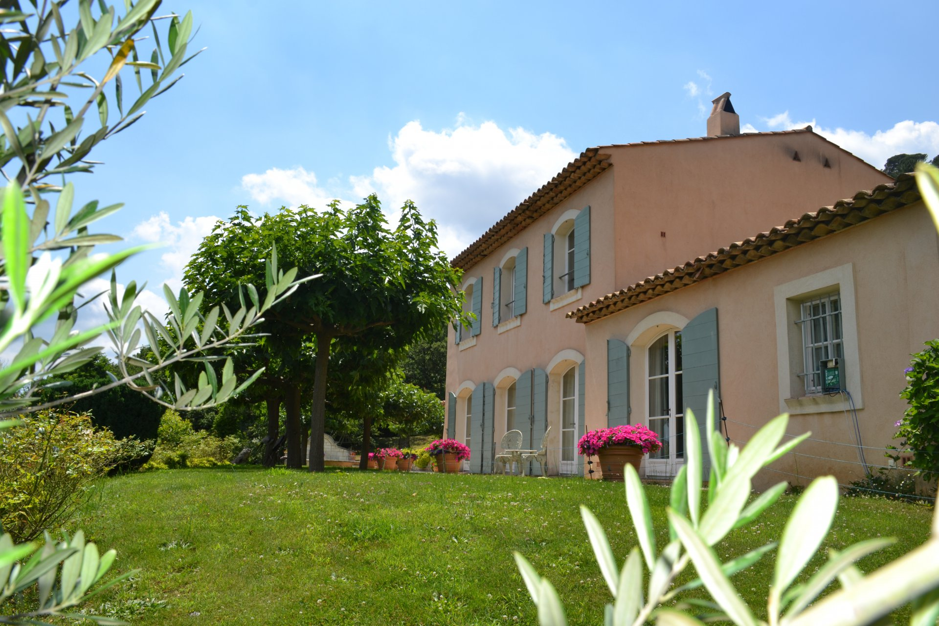 Property on the heights of La Garde Freinet