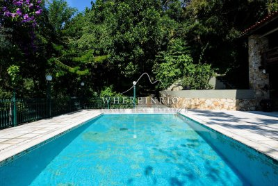 W02.146 - Wonderful House For Rent in Cosme Velho