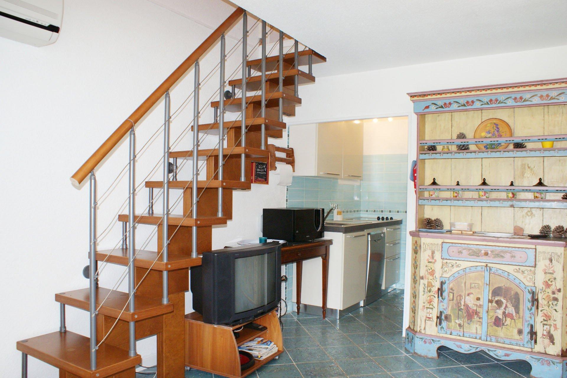 3-Zimmer-Reihenhaus mit schönem Meerblick und Garage