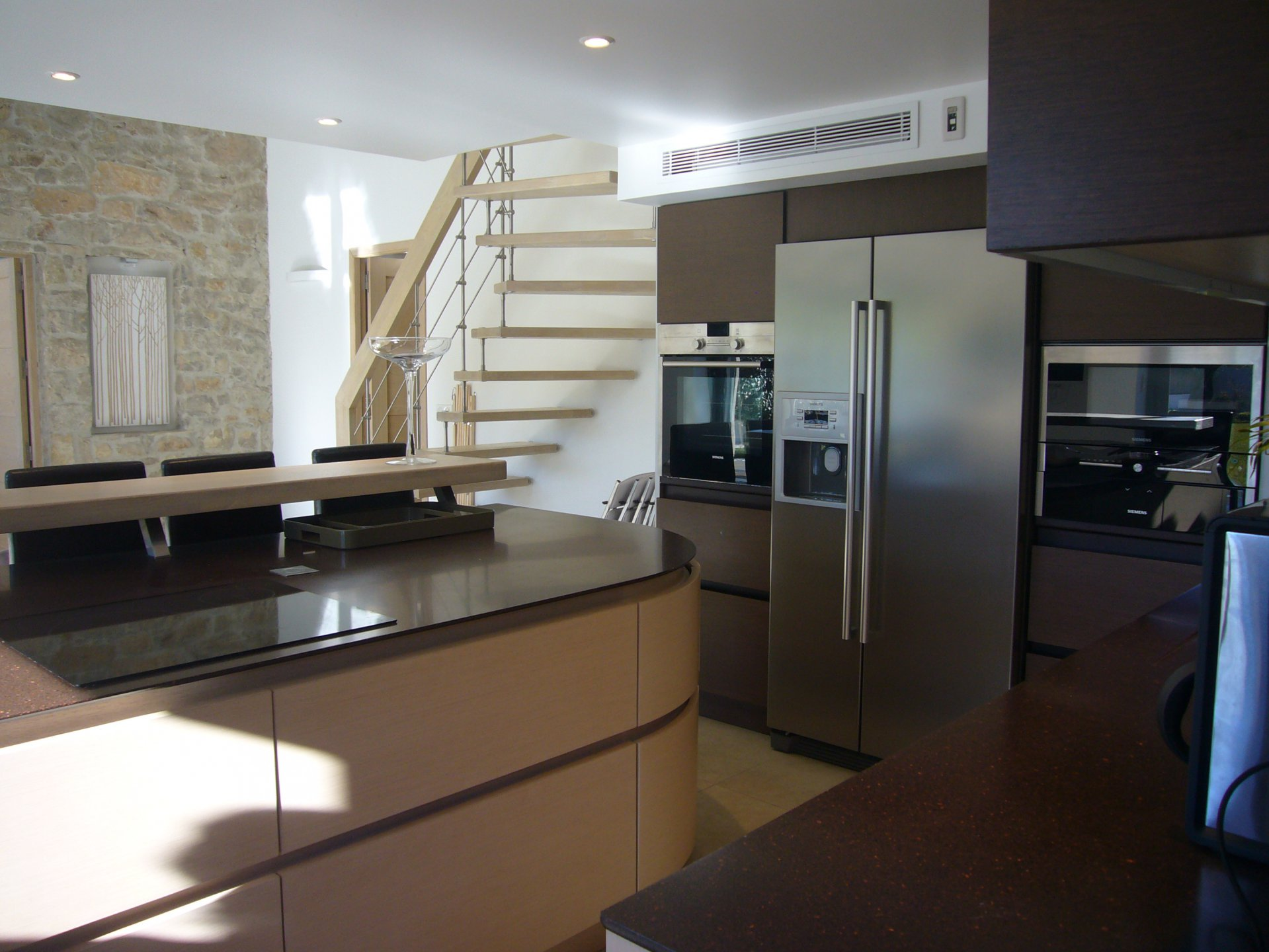 Kitchen, stainless steel