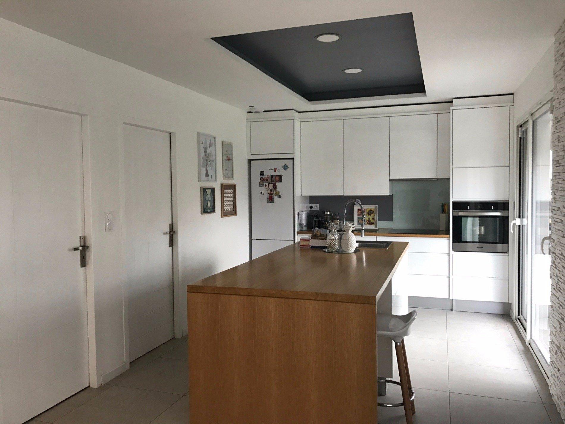 Cabestany Villa récente 2 faces sejour cuisine US t4 garage