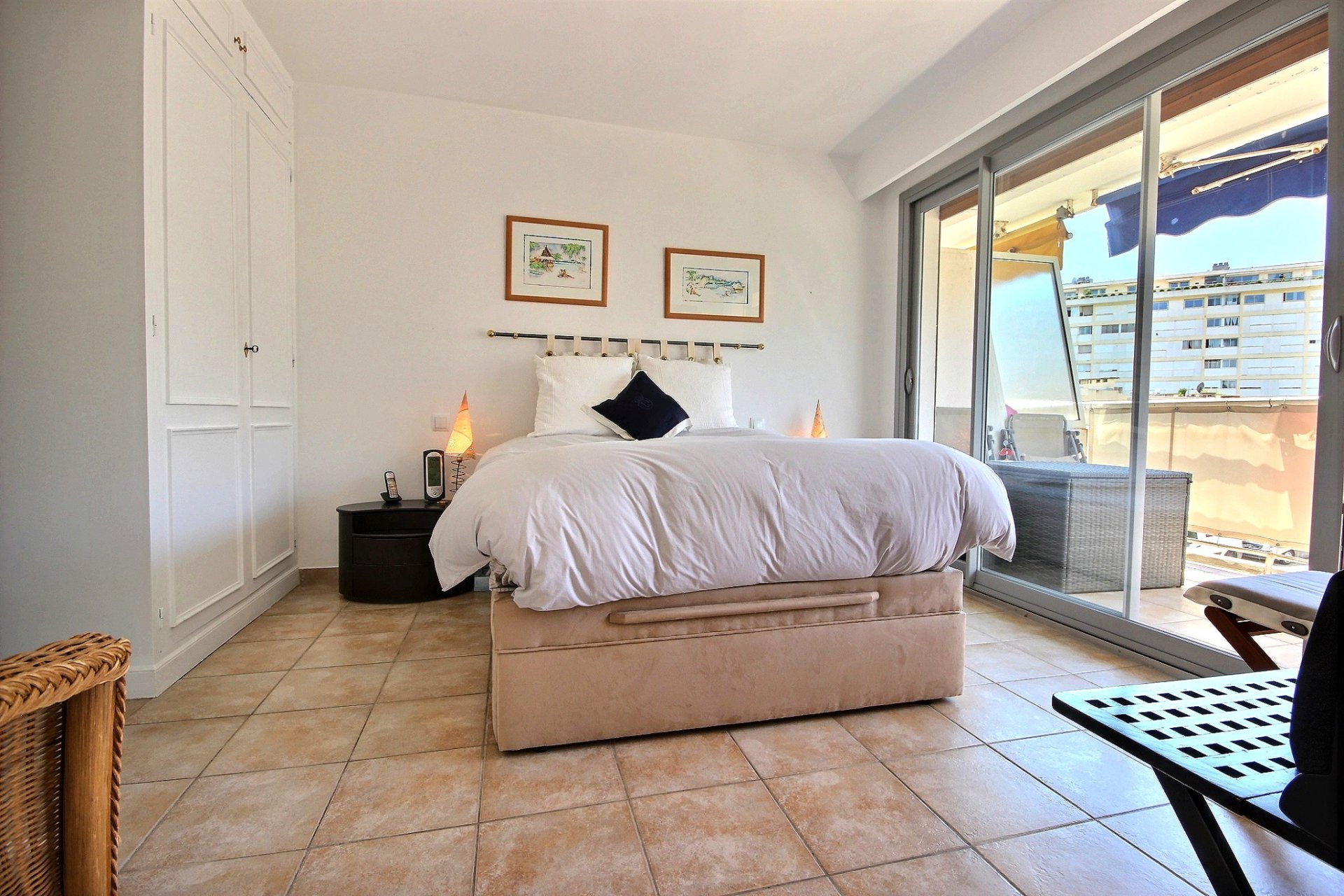 property for sale in cannes palm beach with terrace bedroom