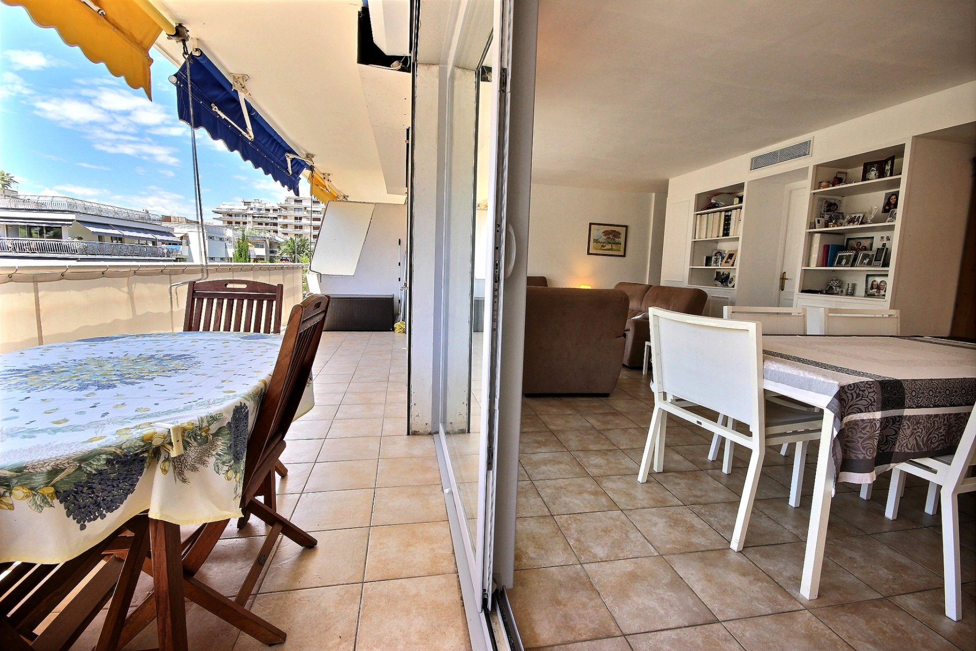 appartement à vendre Cannes Palm Beach terrasse