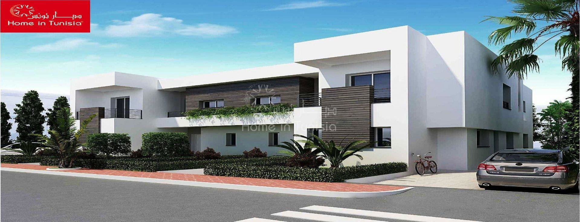 Investir villa golf jumelée pour le rendement locatif avec jardin et piscine prive