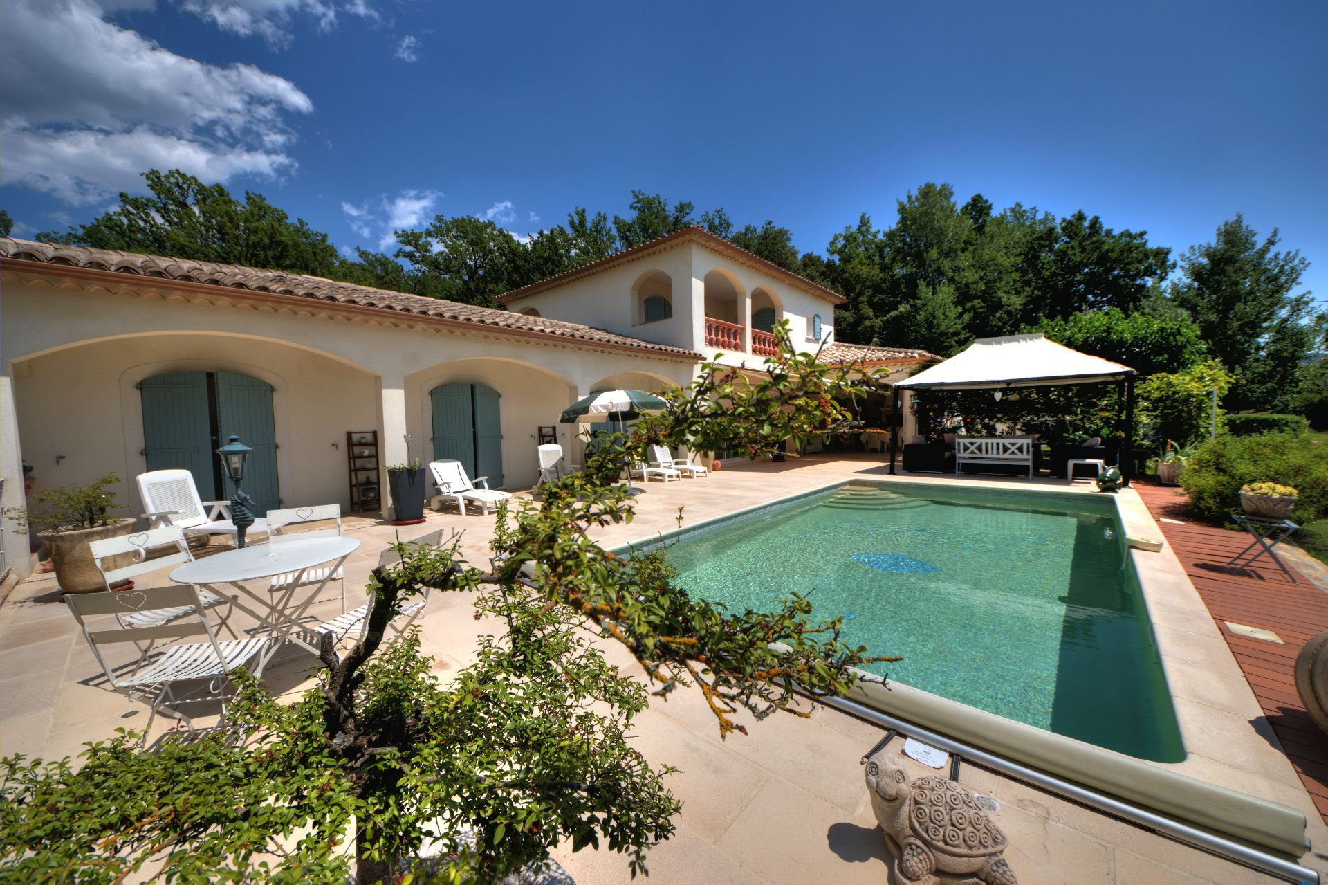 Superb luxury villa with pool Villecroze