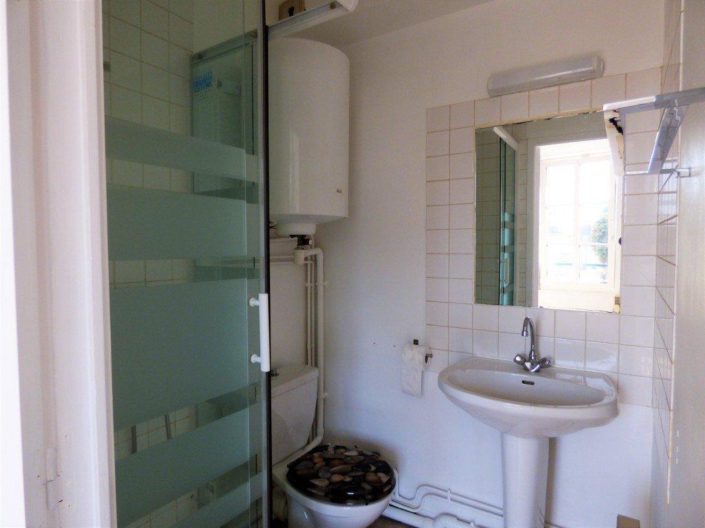salle d'eau douche, lavabo, toilettes, vasse, a louer