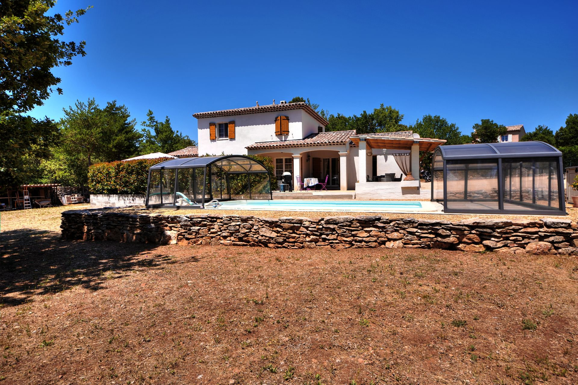 Very nice villa 4 ch with swimming pool, in full nature, Regusse