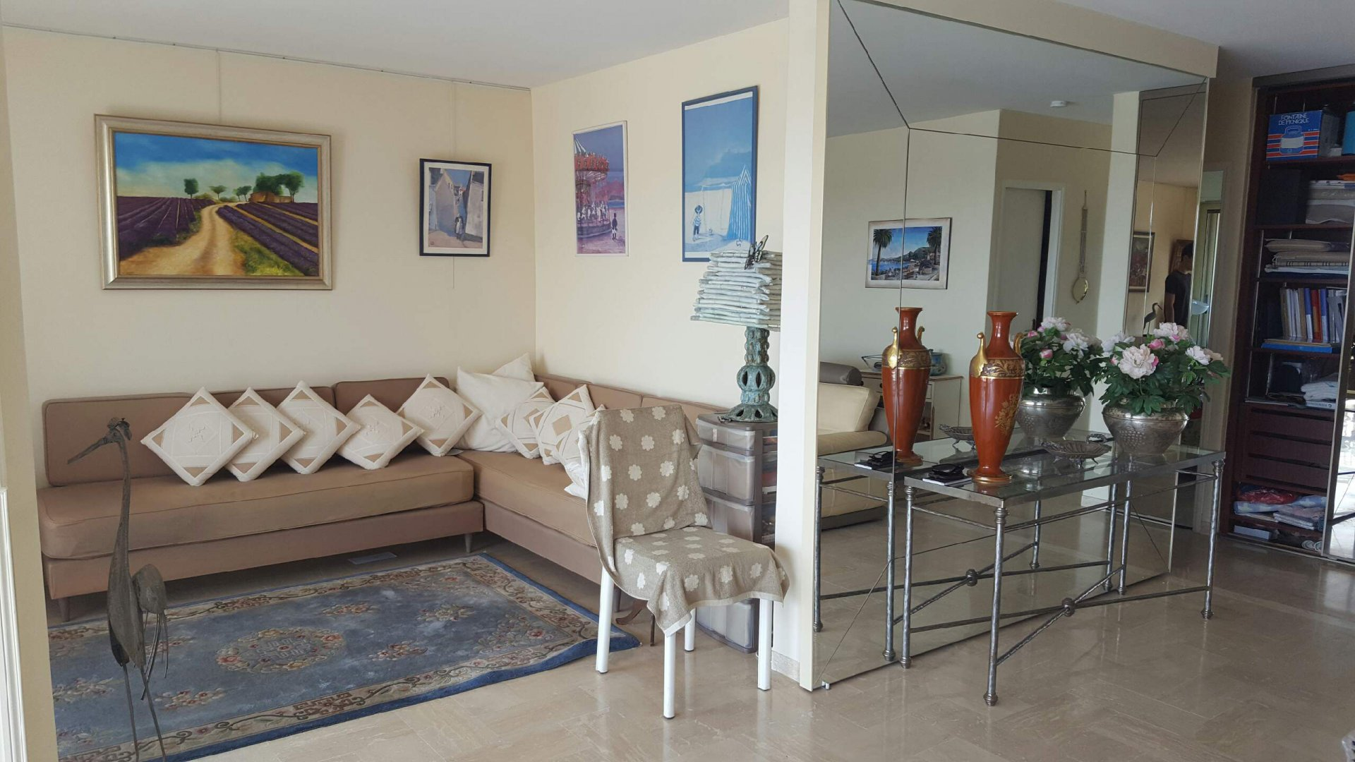 Mandelieu 3 room apartment with sea view of 74.57 m²