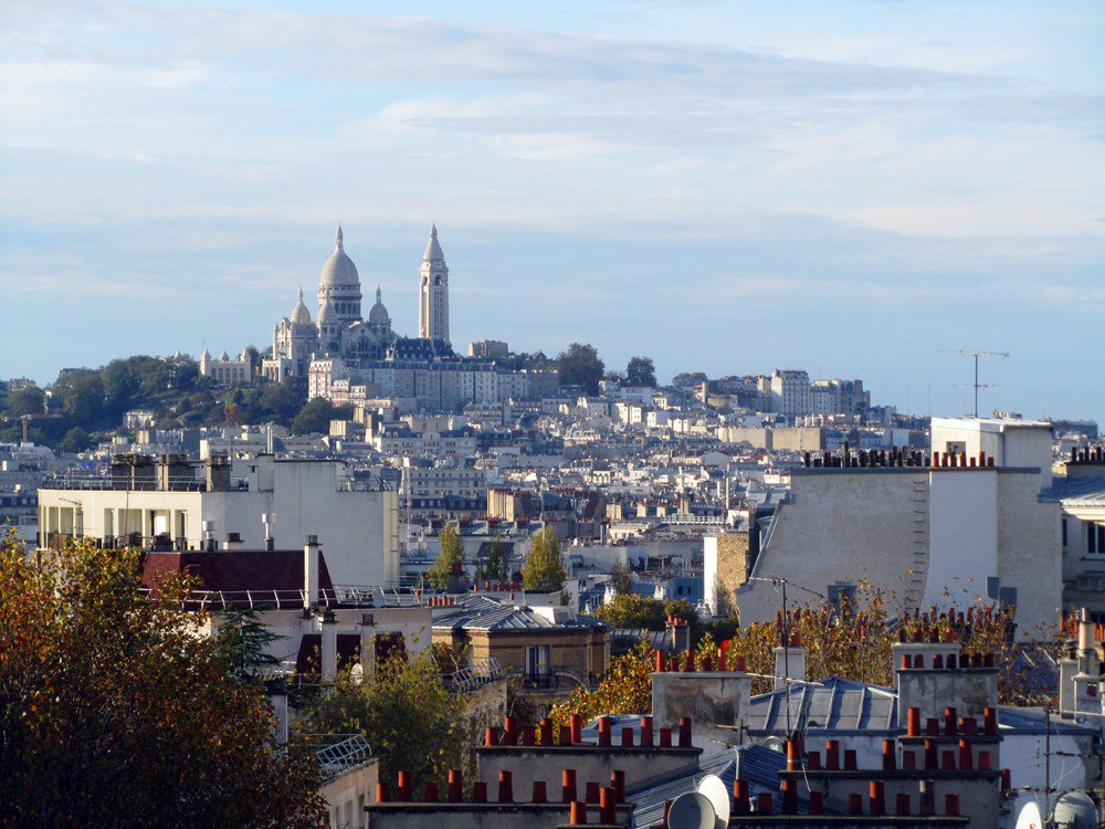 Studio avec terrasse 14m² - Butte Bergeyre, 19ème arrondissement