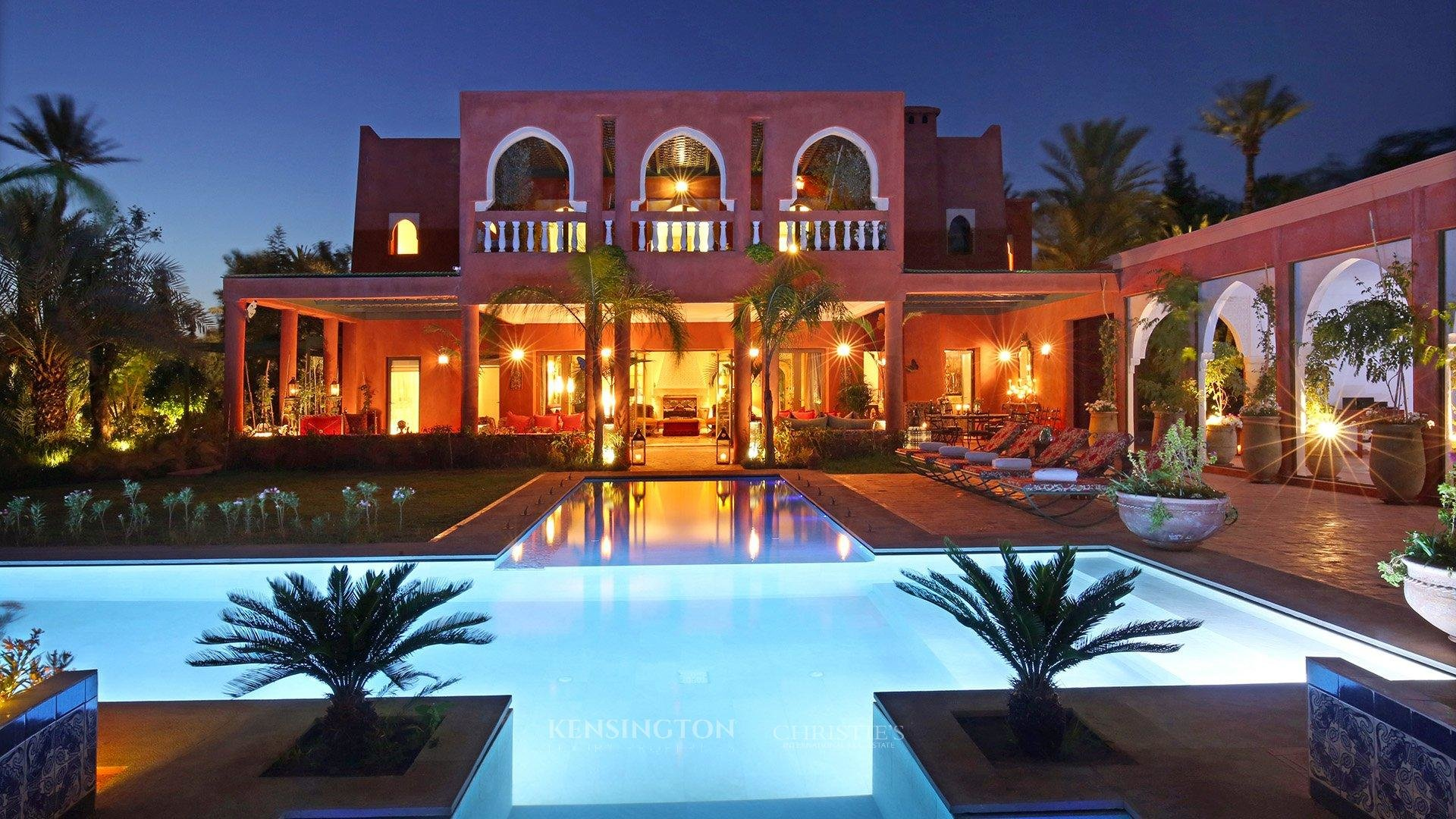 KPPM00835: Villa Happy Luxury Villa Marrakech Morocco ...