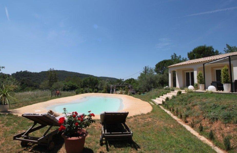 Villa récente au calme total, vue magnifique!
