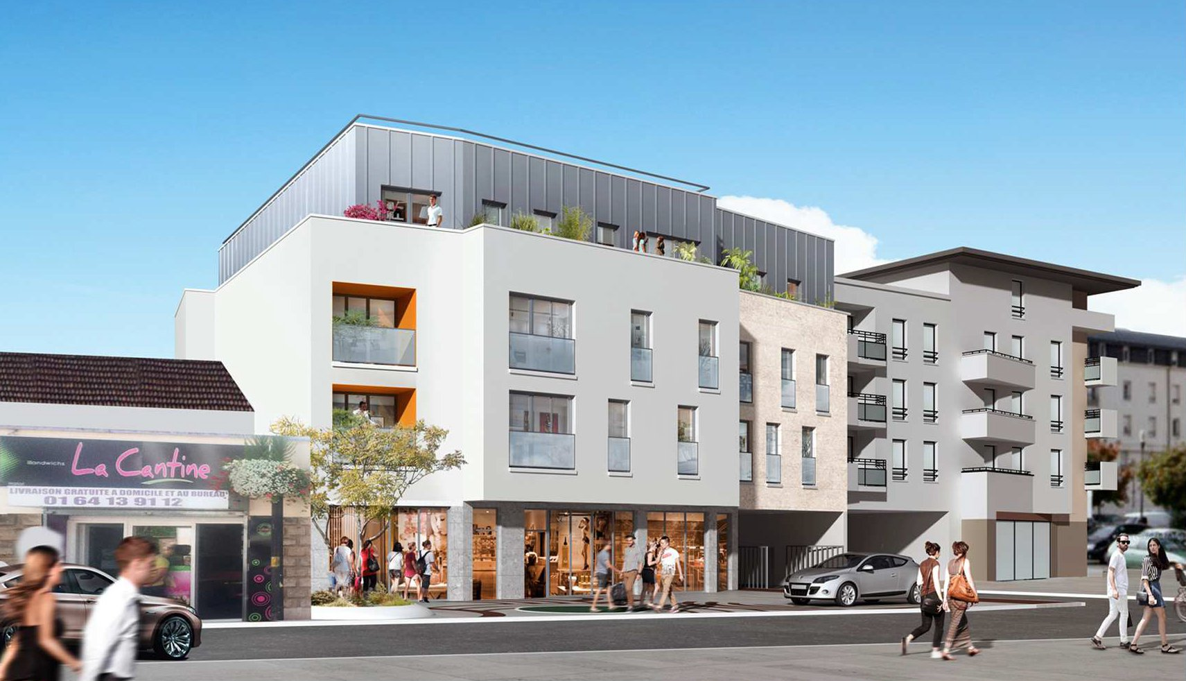 Programme Immeuble - Combs-la-Ville