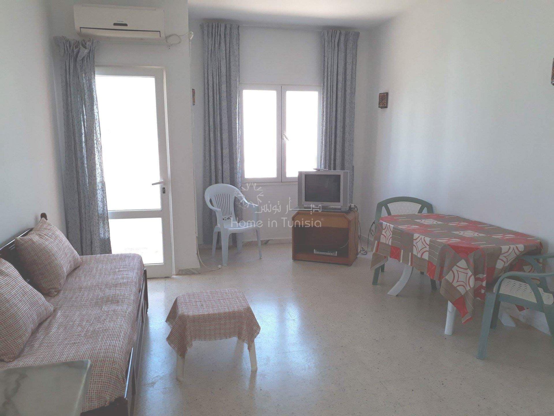 Appartement de vacance de type S+2 situé à   chatt meriem