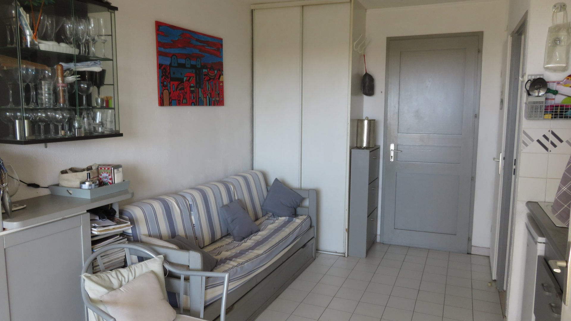Appartement 2 pièces vue mer et GARAGE