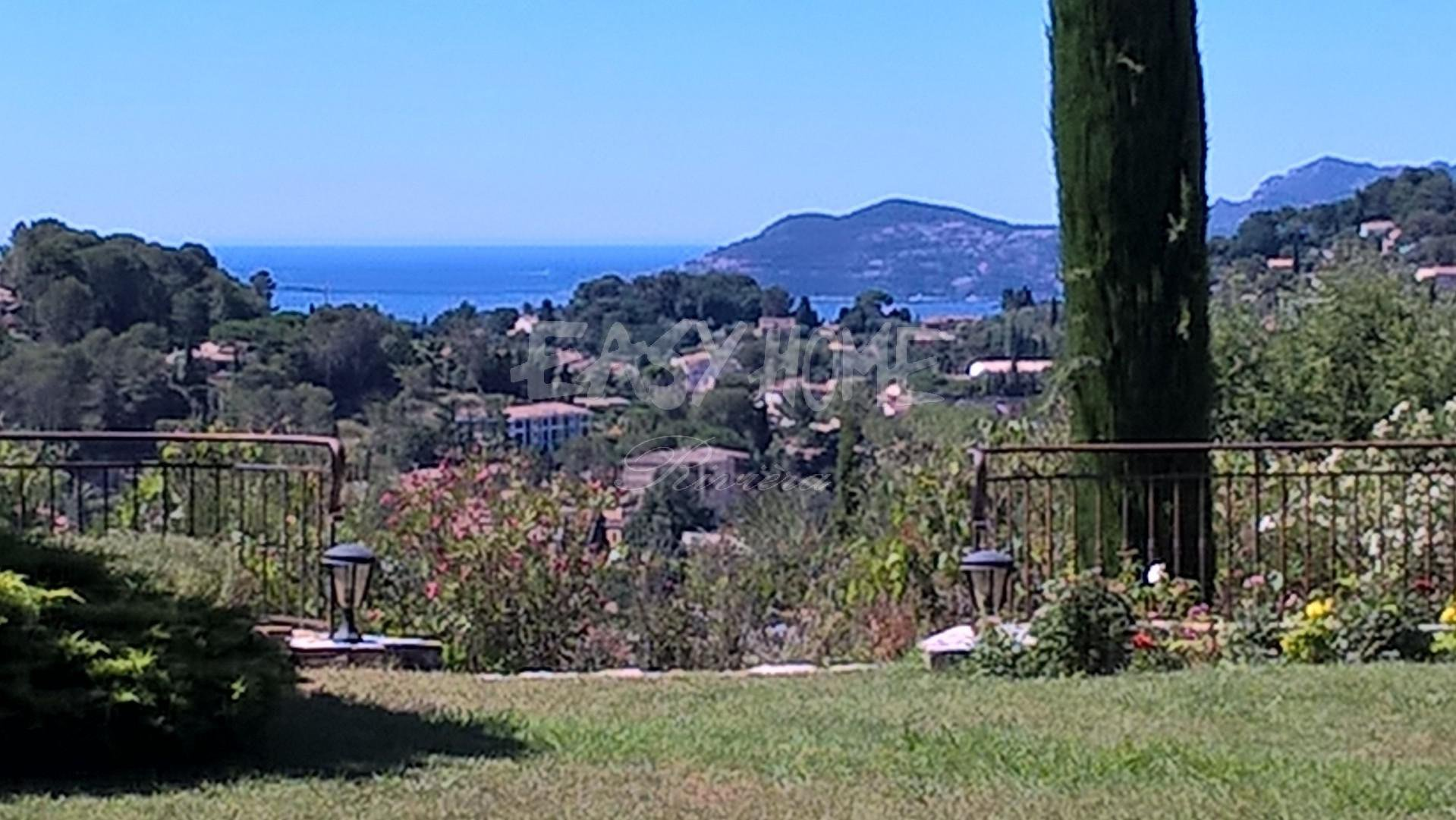 FOR SALE MOUGINS - VIEW SEA AND VILLAGE