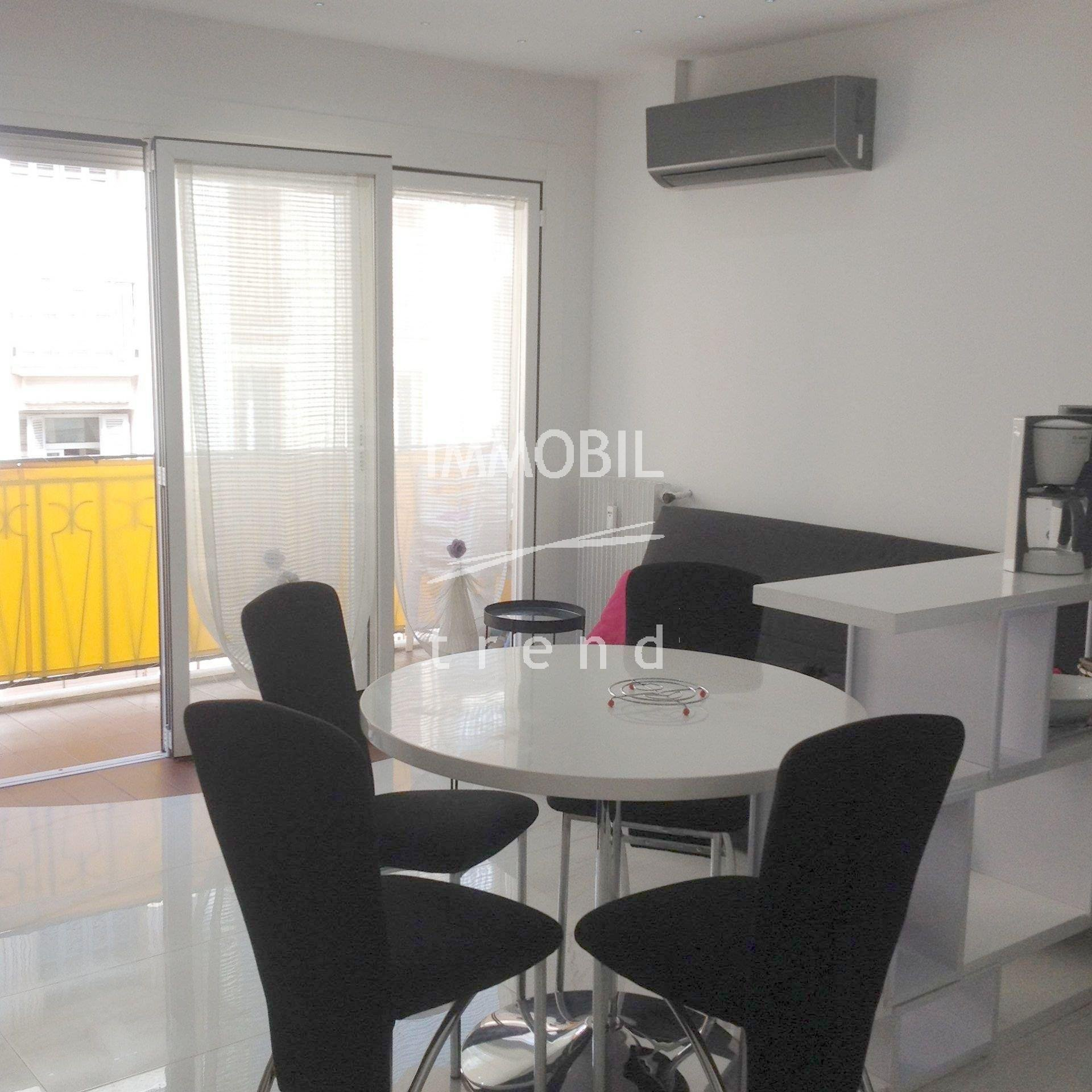 LOCATION ETUDIANTS |APPARTEMENT 2 PIECES - MENTON CENTRE|