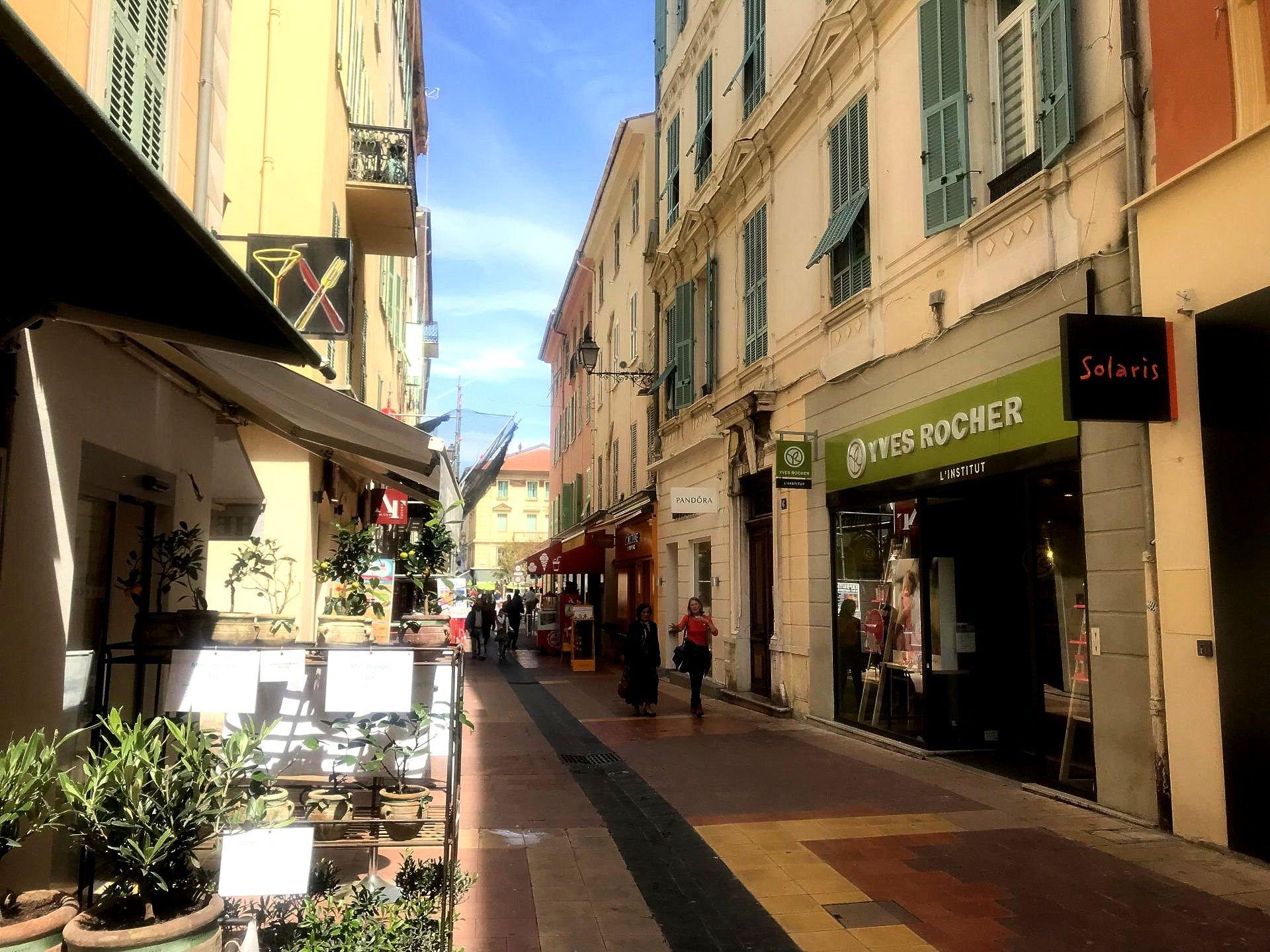 Sale Business assets - Menton Piétonne