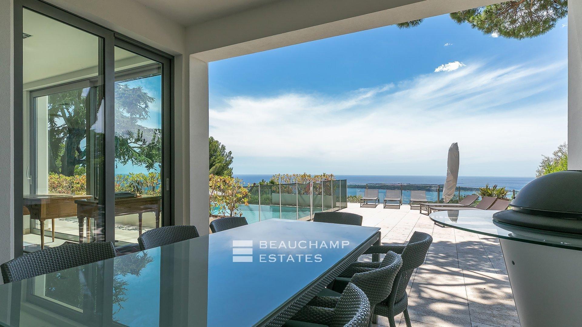 Villa Contemporaine 4 Chambres à Super Cannes