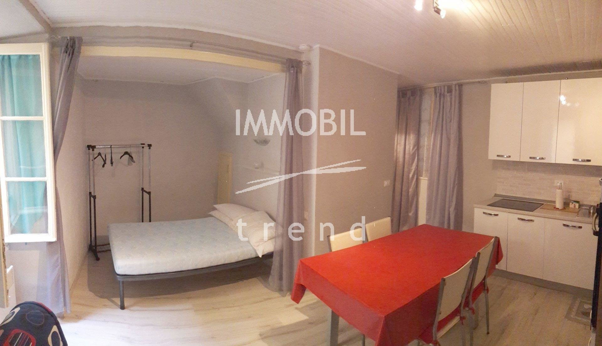 Furnished rental studio in Menton vieille ville