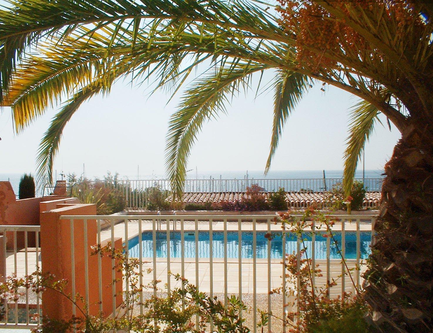 2-Zimmer-Appartment in einer Residenz direkt am Meer