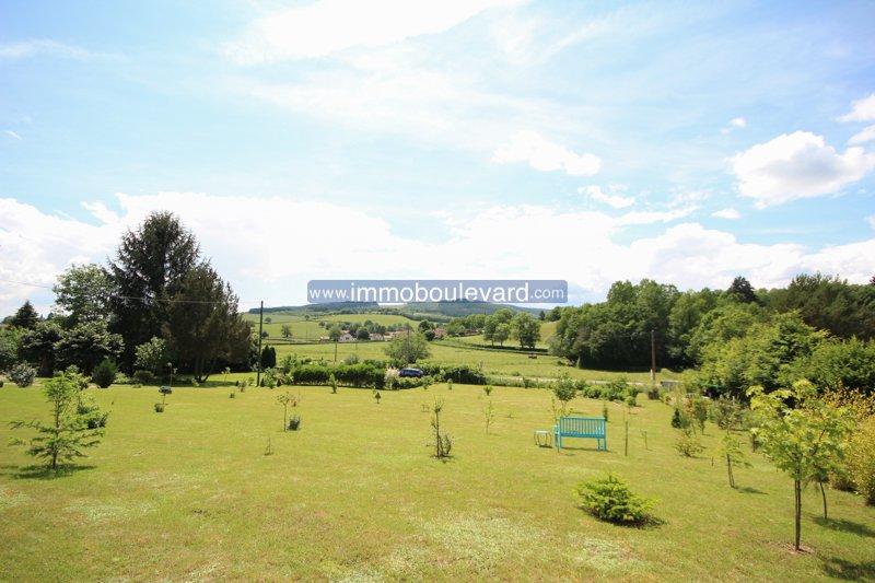 Karakterstiek woonhuis met grote tuin te koop in Barnay in de Bourgogne