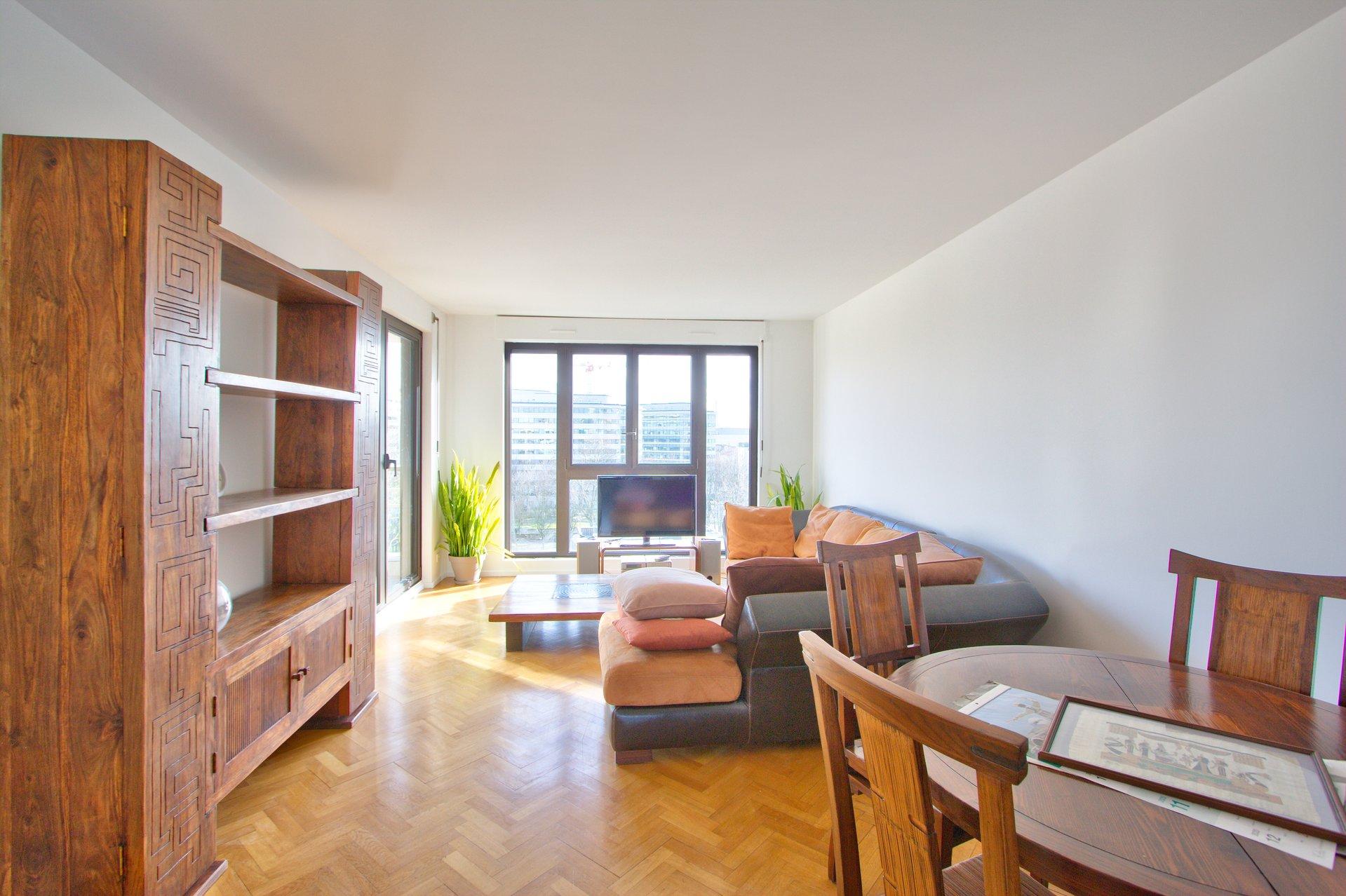 Rental Apartment Levallois-Perret Ile de la Jatte - Square Baudin