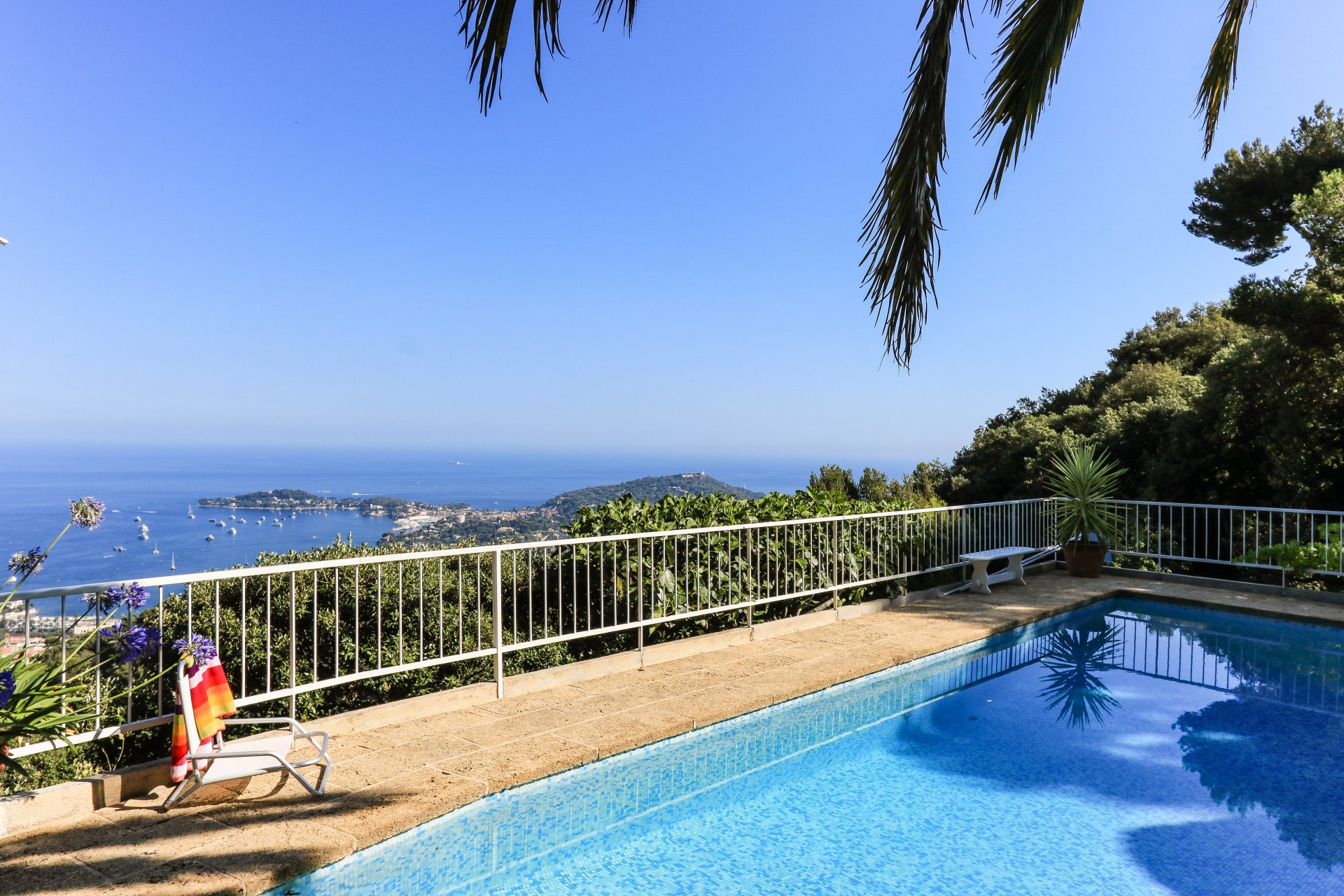 House in Villefranche sur Mer- sea view