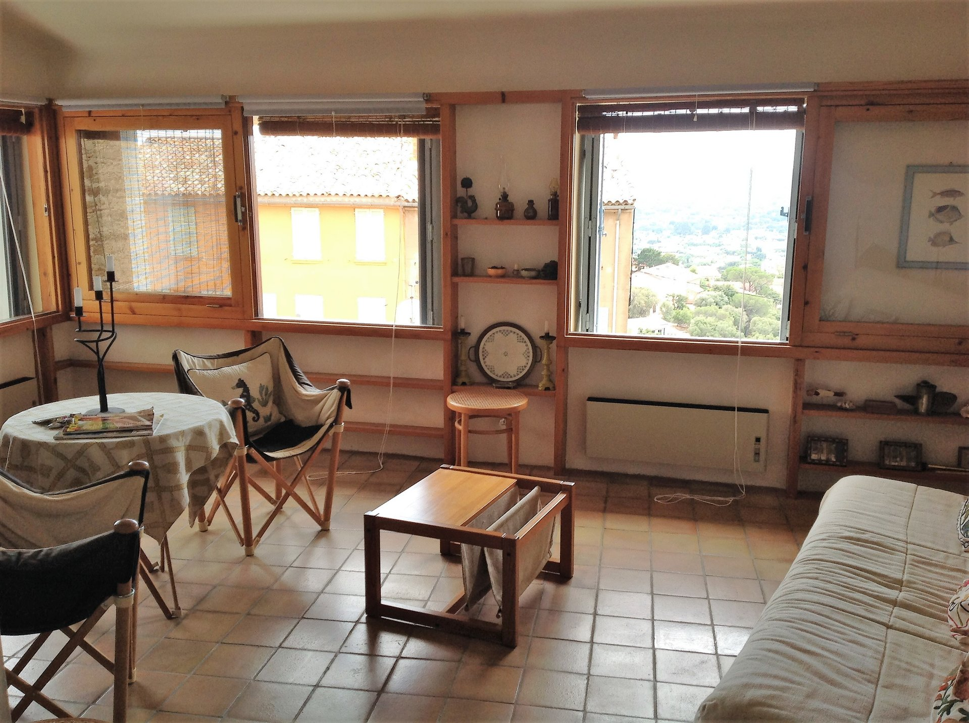 Medieval village - loft 51m ² with panoramic view