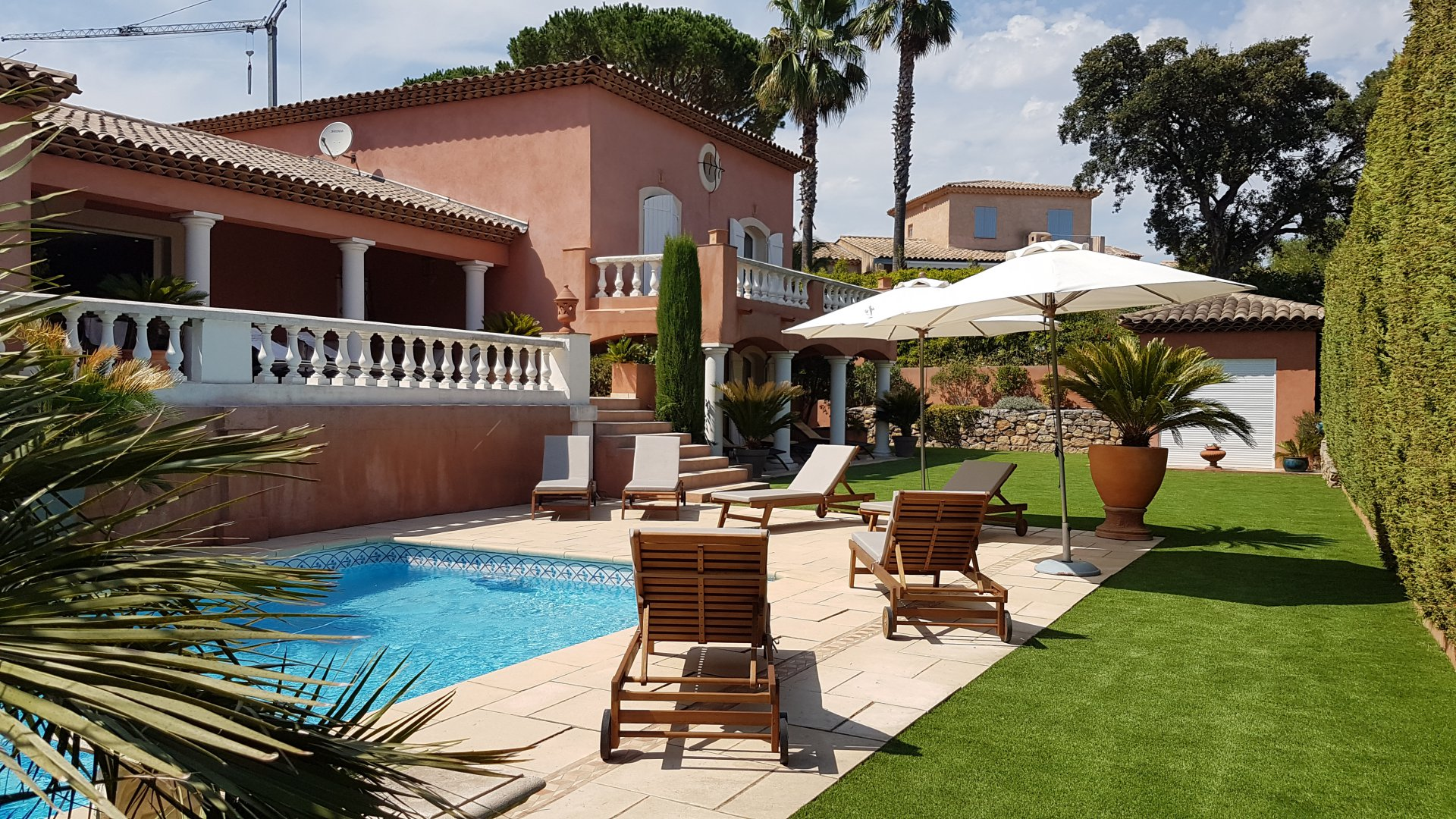 Beautiful villa in Sainte-Maxime